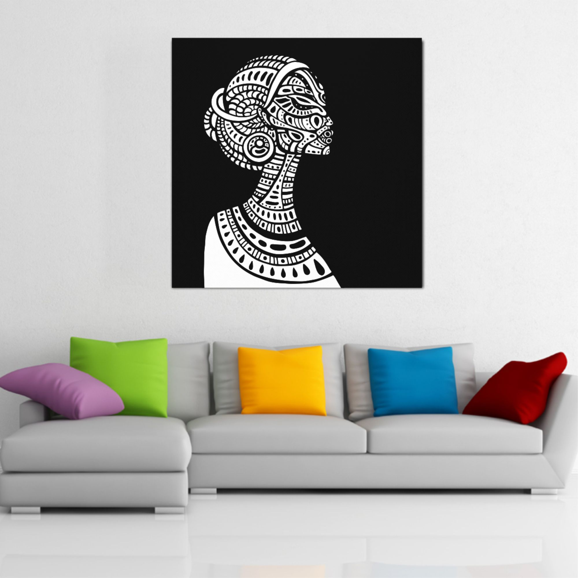 coutore wall art canvas print