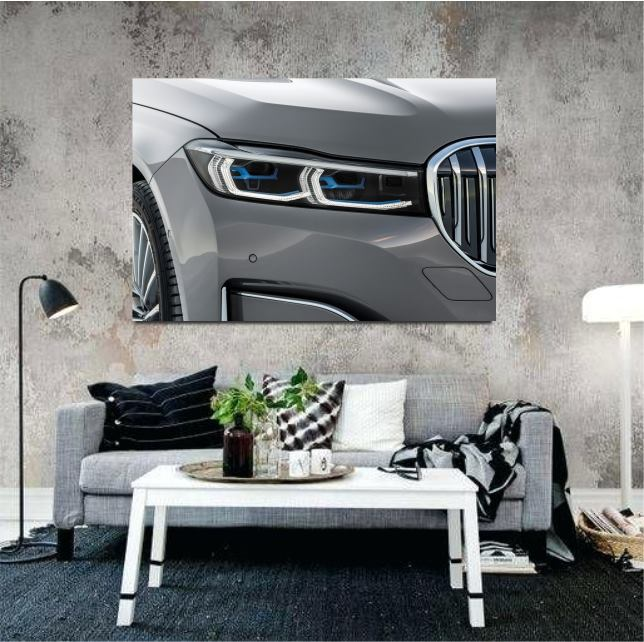 2017 BMW wall art canvas print