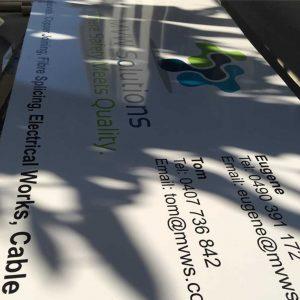 Alumium signs for signage