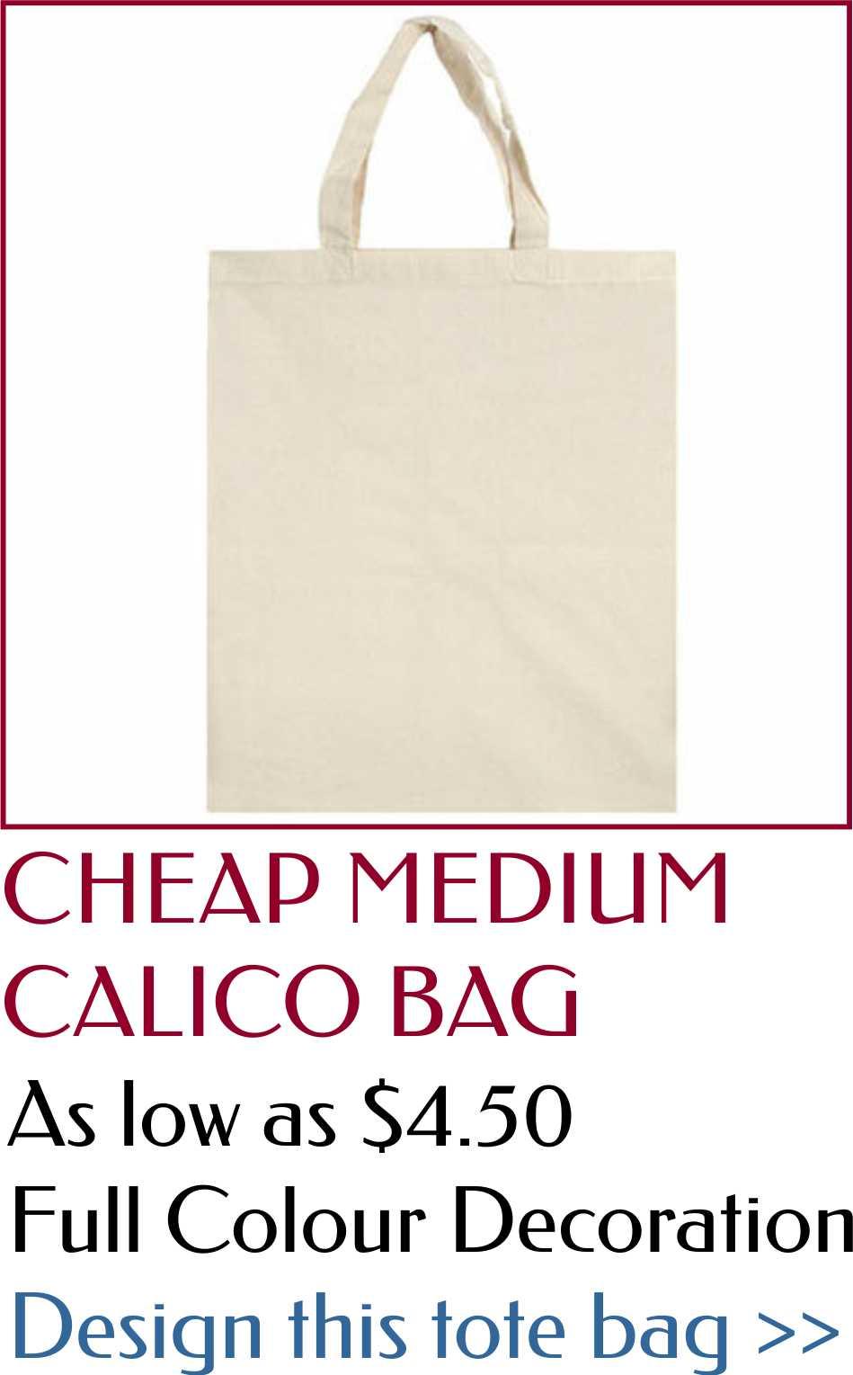 custom medium tote bag