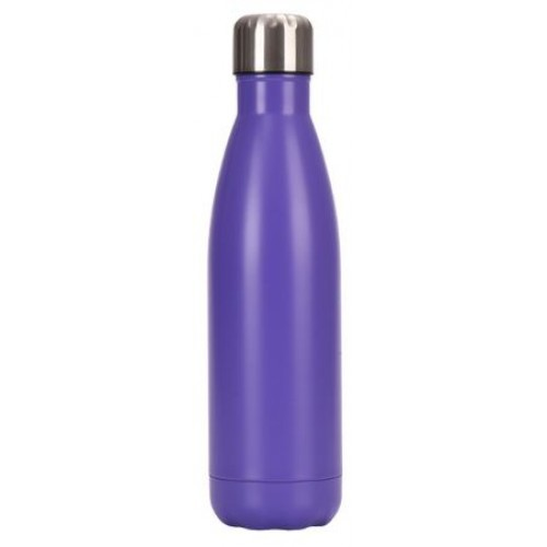 Personalized logo purple drink bottle