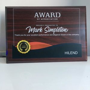 Personalized Plaques And Awards